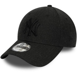 NEW ERA - CASQUETTE 9FORTY WINTERIZED THE LEAGUE 12134650 NEW YORK YANKEES NOIR CHINÉ