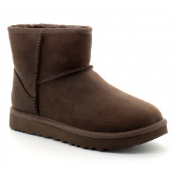 ugg classic mini leather bottes