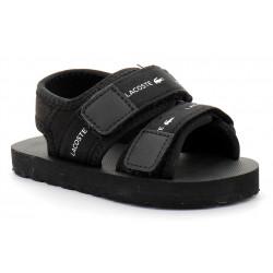 lacoste sandales sol bébé en tissu